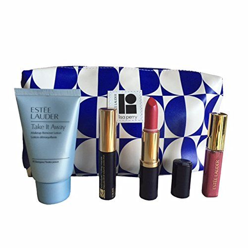 Estee Lauder 2015 5piece Make up Gift Set with Lisa Perry Cosmetic Baggreat Value >>> Read more reviews of the product by visiting the link on the image.