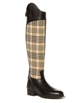 Ariat plaid leather tall riding boot | Equestrian Style ...