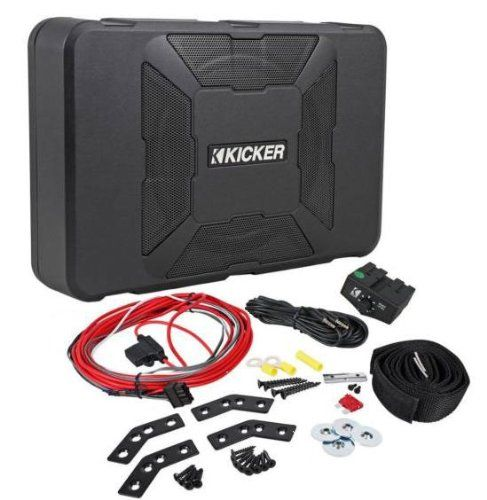 Save $ 79.97 order now Kicker Hideaway Compact Powered Sub at Online Car Stereo