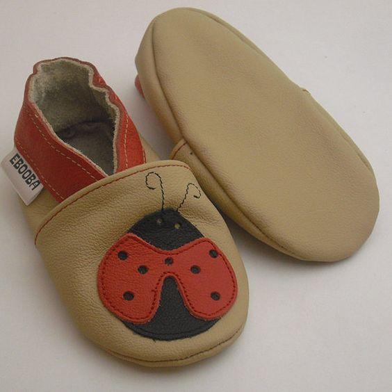 suave sapatos de bebe unico  bege joaninha 2 3 ebooba