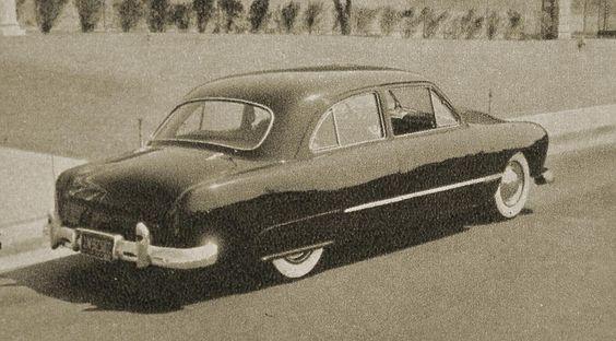 Don Britton 50 ford.......Calazonas car club