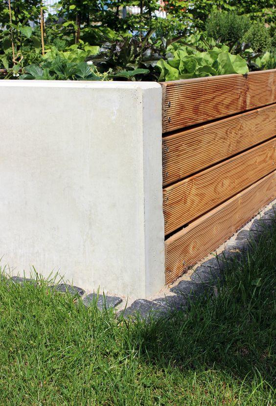 Hochbeet-selbst-bauen-blog-jennadores-garten-diy-beton-holz - sichtschutz beton selber machen