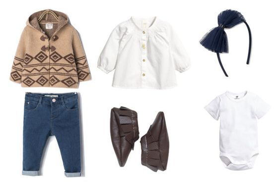 """""""Baby Girl Aztec Coat"""" by babiesswardrobe ❤ liked on Polyvore featuring Zara and H&M"""