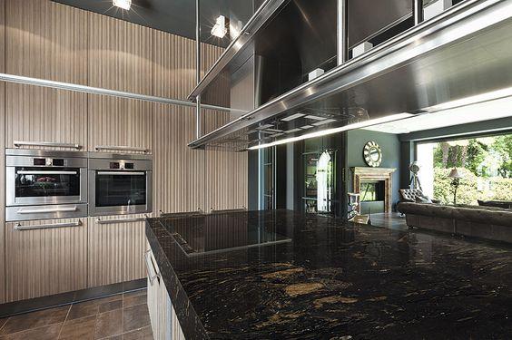 Granito Barocco: una sorprendente combinación en negro y marrón