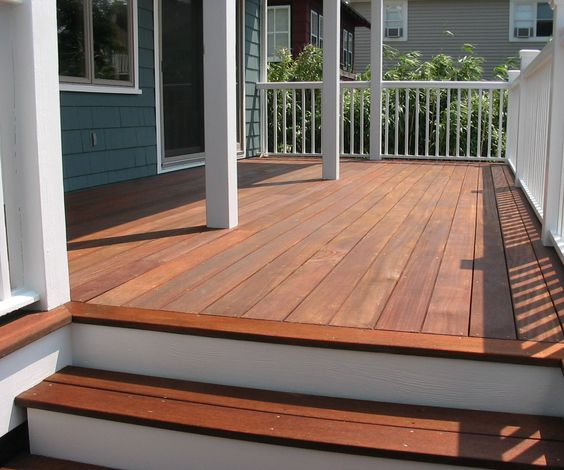 High Resolution Image: Exterior Design Deck Stain Colors