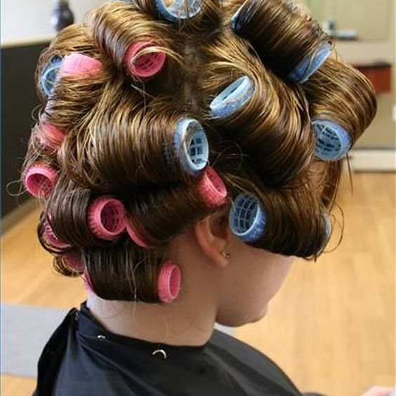 Use Velcro Rollers on Long Hair