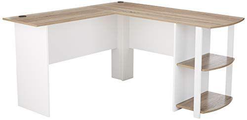 Ameriwood Home Dakota L Shaped Desk With Bookshelves Whi Https Www Amazon Com Dp B01g8nzyvw Ref Cm Sw R Pi Dp U X Bookshelf Desk L Shaped Desk Best Desk