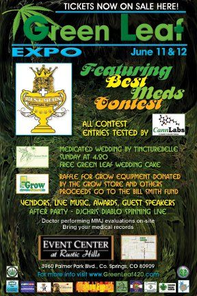 Green Leaf Expo - Colo. Springs