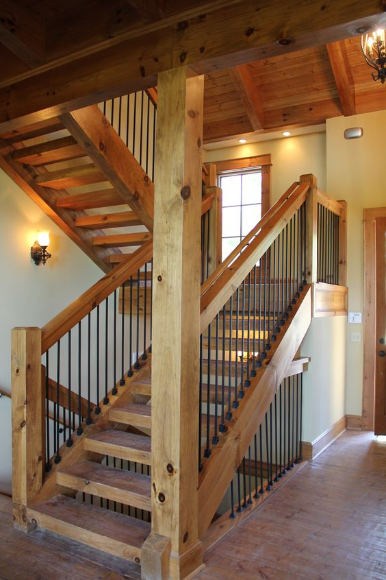 Best Post And Beam Stairway Vpc Projects Pinterest 400 x 300