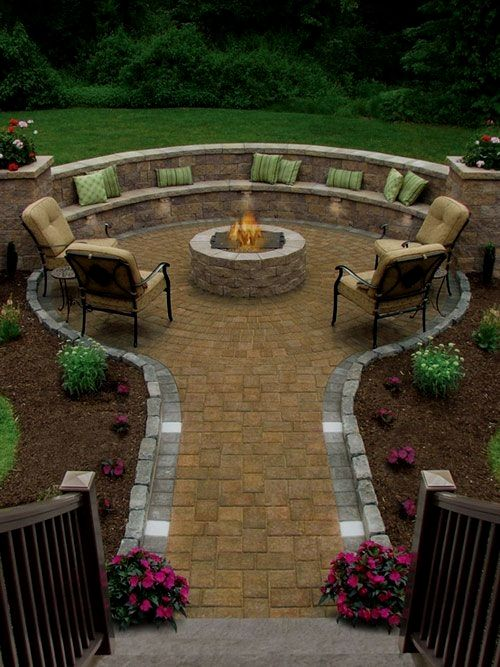 Landscaping Ideas For A 2 Acre Lot Landscapingideas Backyard Backyard Fire Backyard Design