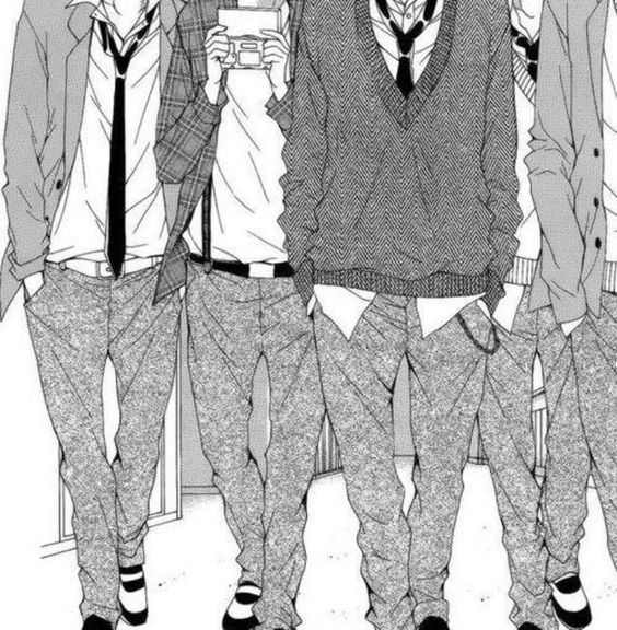Why cAnt all schools have uniforms? These boys don't even have heads and I want them...