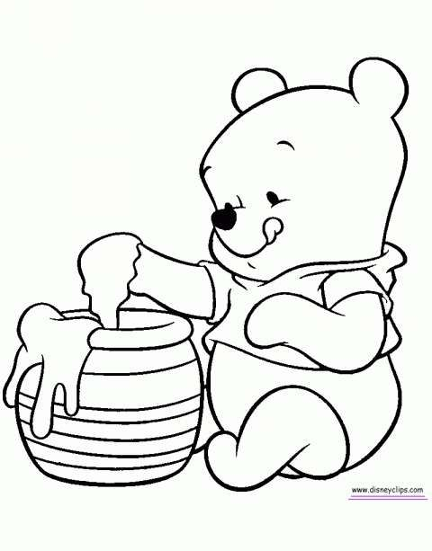 17 Baby Winnie The Pooh Drawing Winnie The Pooh Drawing Bear
