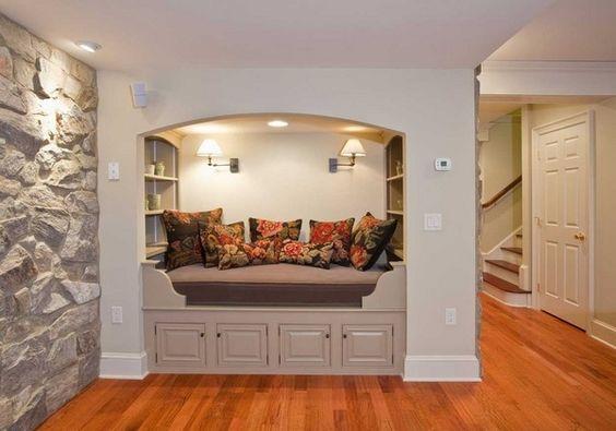Small basement design ideas basement decorating ideas space saving ideas guest…