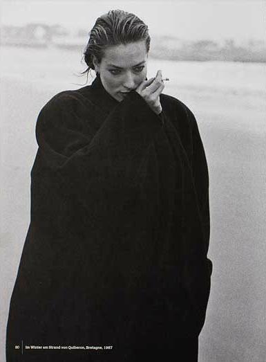 Tatjana Patitz - Quiberon - 1993 Loving looking at photographers on Pinterest.  -repinned by LA portrait photographer http://LinneaLenkus.com