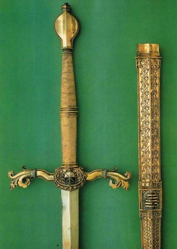 Sword of Elector Augustus - Germany (Nuremberg), 1566