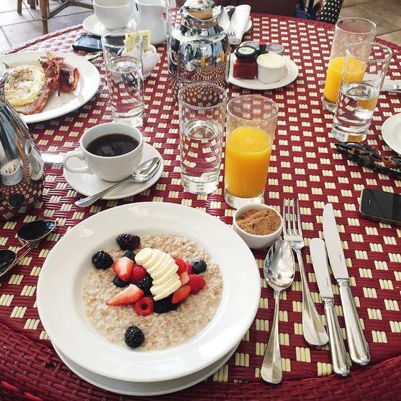 """""""Breakfast  #TheBlondeSaladGoesToHollywood"""""""