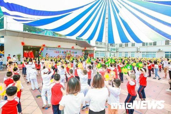 Áo cờ đỏ sao vàng trường tiểu học CGD Victory Hà Nội - Hình 6