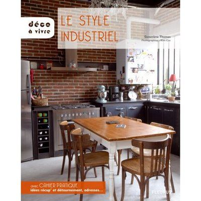 Cuisine and style on pinterest for Cuisine industrielle chic