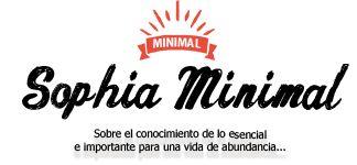 ¿QUIÉN SOY? Y ¿POR QUÉ SOPHIA MINIMAL? #Minimalismo