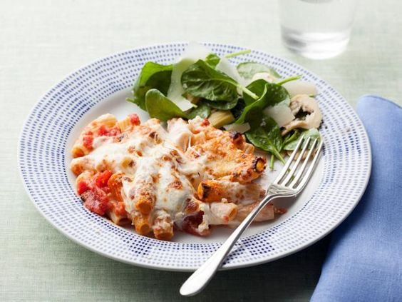 Don't fret about dinner! Just make Rachael Ray's Fast, Fake-Baked Ziti.