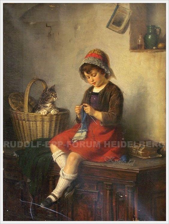 ru_knitting: Вязание в живописи... 14: