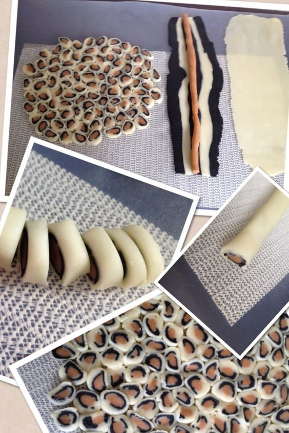 Panterprint how to Animal print. Use technique for fondant