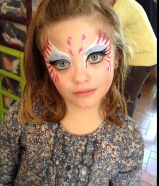 Maquillages princesses maquillages papillons maquillages enfants maquillage enfants - Modele maquillage princesse ...