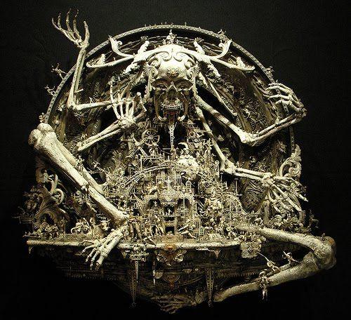 Surrealism and Visionary art: Kris Kuksi