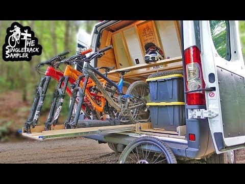 Youtube Diy Bike Rack Car Bike Rack Camper Van Conversion Diy