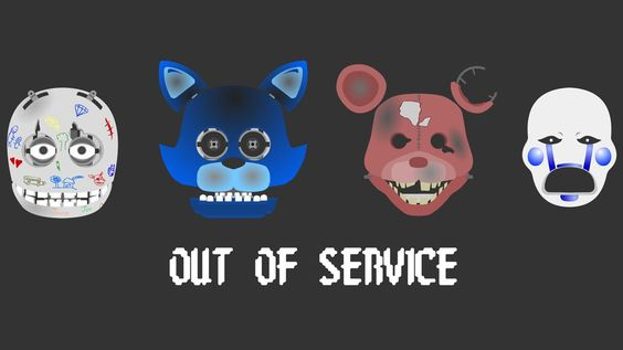 Five Nights At Candy's old animatronics by hookls on DeviantArt