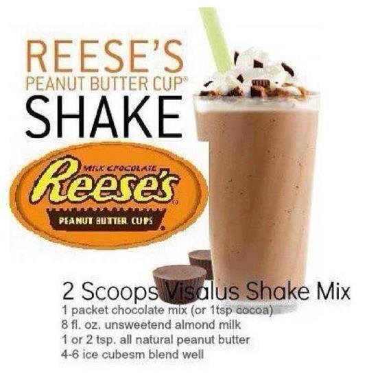 Reese's Shake Recipe Body by Vi. Yum, Yum,Yum!  matthewcurrybodybyvi.com