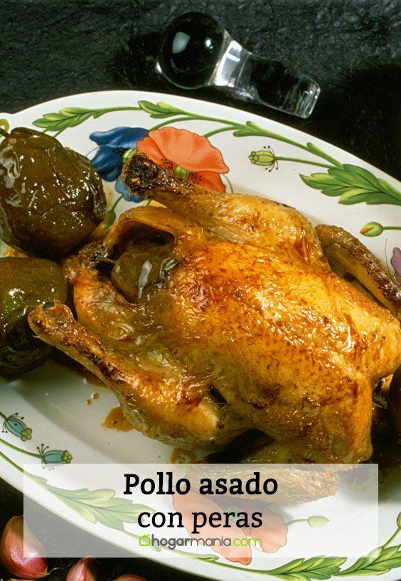 Receta De Pollo Asado Con Peras Karlos Arguiñano Receta Recetas De Pollo Asado Pollo Asado Pollo