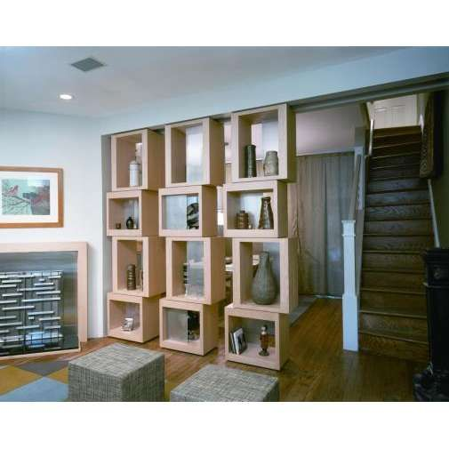 furniture bookshelf with books unique room divider