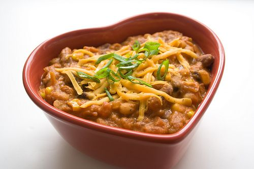 Chili with Peanut Butter | Vegetarian | Pinterest | Vegetarian Chili ...