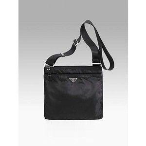 shop prada handbags online - celebrities with nylon bags | Prada Nylon Messenger Bag - Polyvore ...