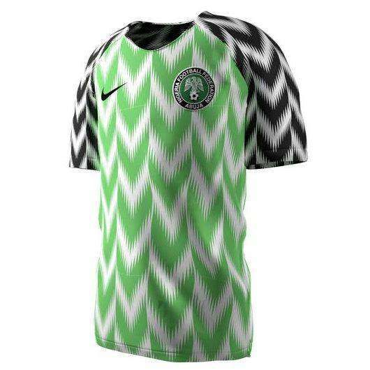 Nigeria Home 2018 World Cup Jersey Amojerseys World Cup Shirts Jersey Design Football Jersey Shirt