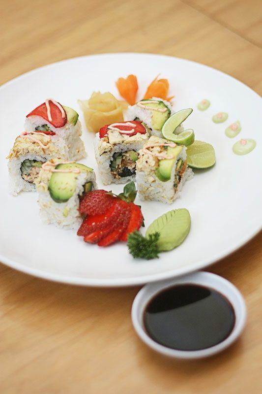 sushi from loving hut