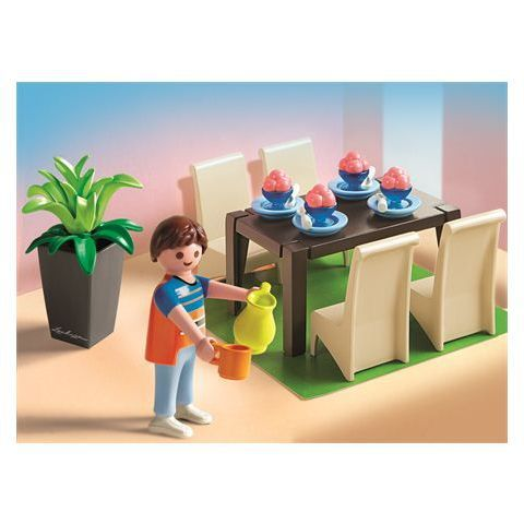 5335 salle manger marque playmobil quelle surprise for Salle manger playmobil