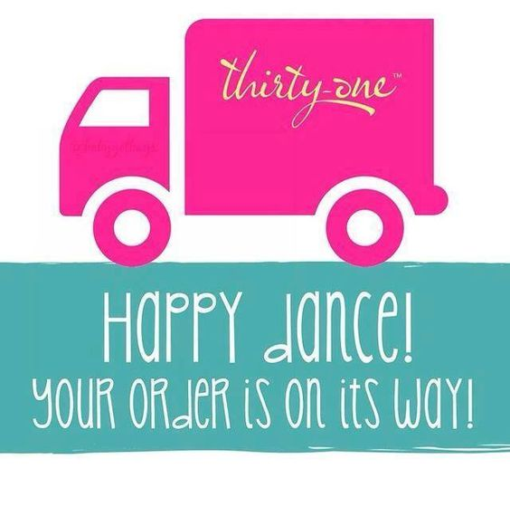Thirty one order has shipped to post on customers wall for Thirty one hostess login