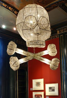 Rock-and-roll chandelier