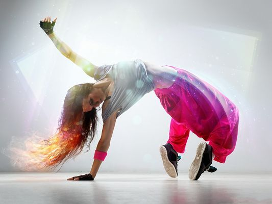 Breakdance Girl Photography Cool Girl In Dancing Firing Hair Free Wallpaper World Break Dance Dance Wallpaper Girl Photography