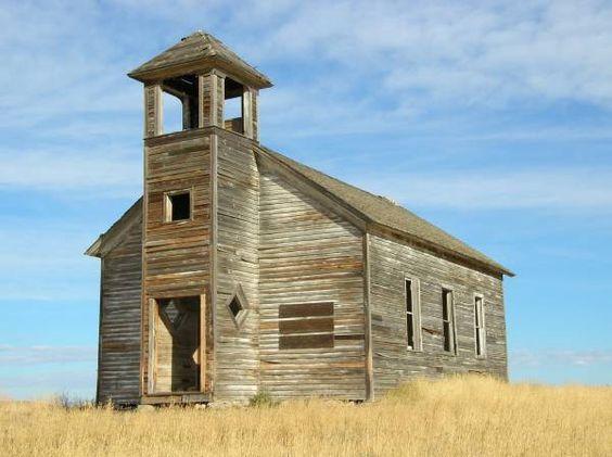 Resultado de imagem para Montana prairie church