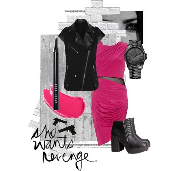 [My Set] Black + Pink: She Wants Revenge - Polyvore