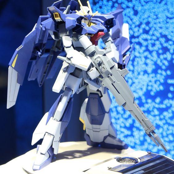 HGBF 1/144 Lightning Gundam and HGBC Lightning Back Weapon System: New Hi Res Images @ Chara Hobby 2014, info http://www.gunjap.net/site/?p=203823