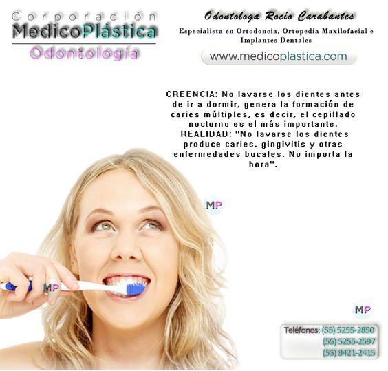 Lavado de dientes.