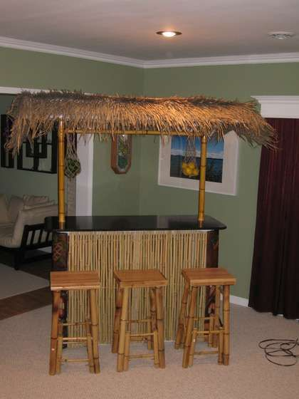 Pvc Tiki Bar We The O Jays And Pools