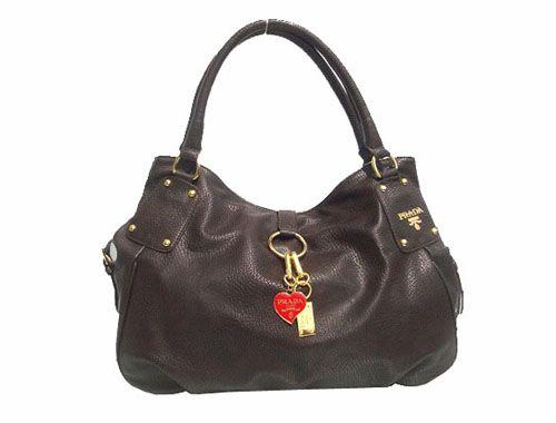 2cea9c17 italy prada square grained calf leather tote bag brown 8e5eb 51f30