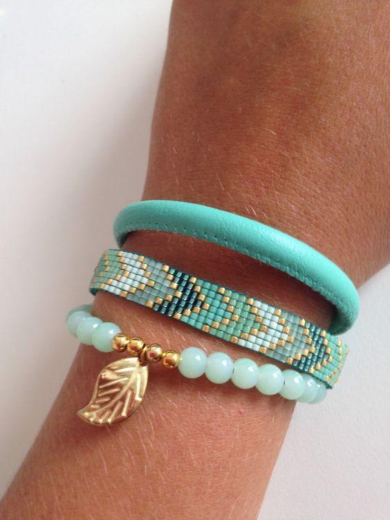 Bracelet brésilien en perles