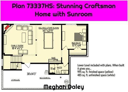 Plan 73337hs Stunning Craftsman Home With Sunroom In 2020 Craftsman House How To Plan Sunroom