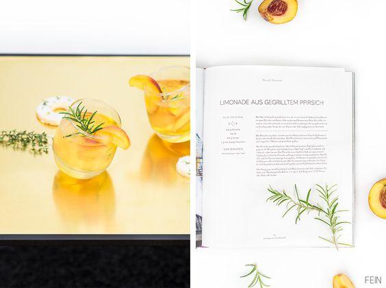 Pfirsich Limonade